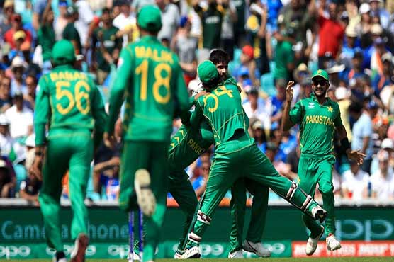 Batting first Pakistan scored 338 for the loss of four wickets in the allotted overs