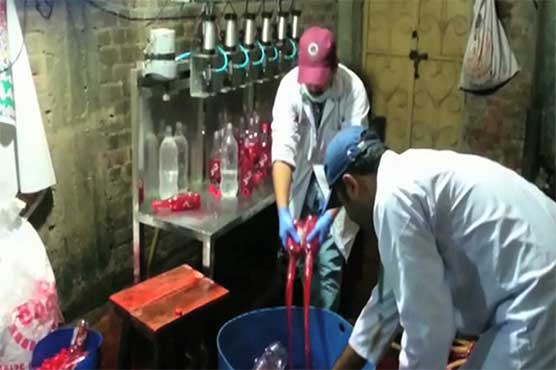 Lahore juice factory sealed over food tests failure