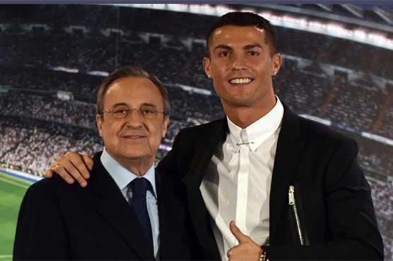 Football: Ronaldo won't quit Real - club boss