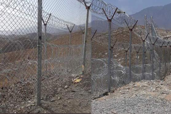 Fencing of Pak-Afghan border commenced on COAS order