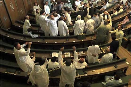 Karachi: Ruckus in city council as opposition leaders scuffle