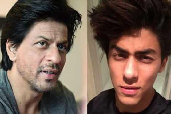 I'd rip off Aryan's lips if he kissed a girl: Shah Rukh Khan
