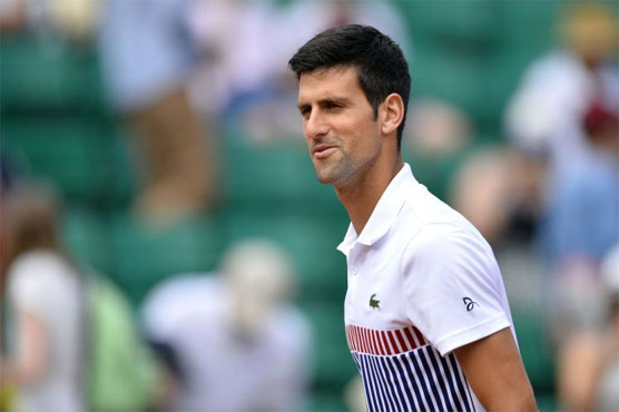 Djokovic in Eastbourne for Wimbledon prep