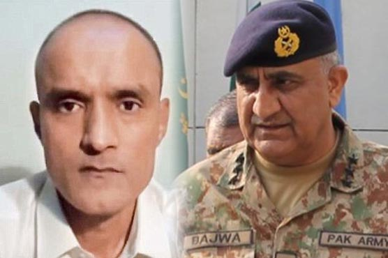 Jadhav submitted mercy petition to Pakistan Army chief