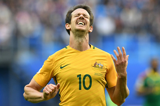 Milligan penalty rescues draw for Australia