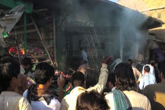 Twin blasts kill dozens in Parachinar market