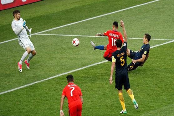 Football: Chile book Portugal semi at Confederations Cup