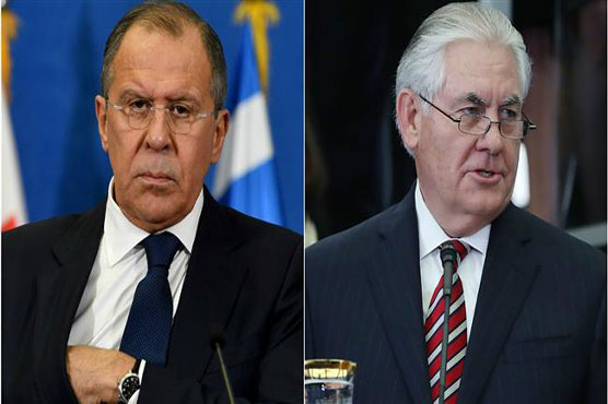 Russia's Lavrov, US Secretary of State Tillerson discuss Syrian conflict