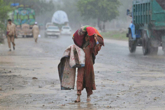 Rain in Lahore, other cities turns weather pleasant