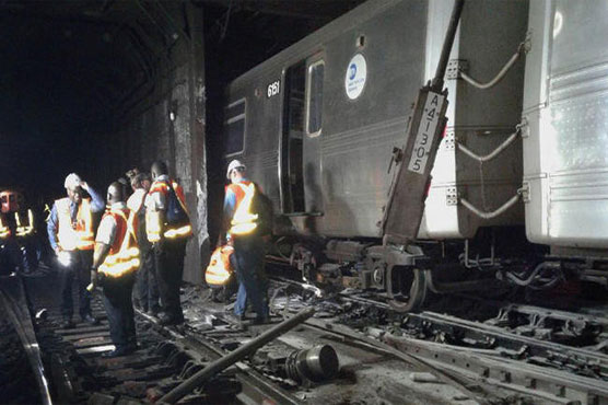 'It Was Very Chaotic:' Passengers Describe Subway Derailment In Harlem