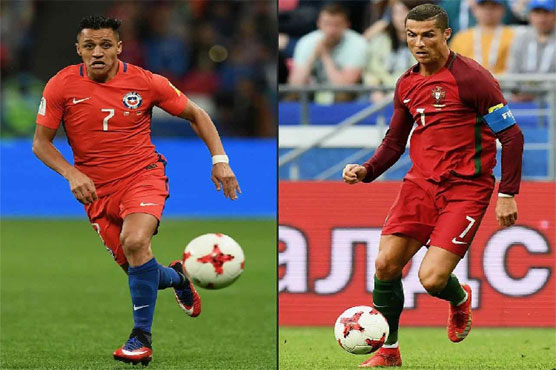 Football: Chile out to curb Portugal goal-king Ronaldo