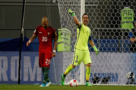 Football: Chile beat Portugal on penalties in Confed Cup semi