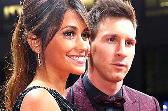 Football, showbiz stars gather for Messi's wedding
