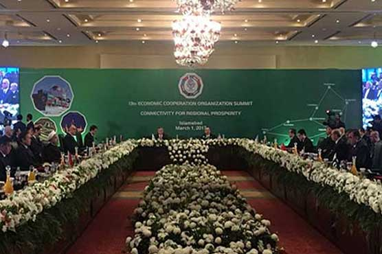Pakistani PM Sharif opens key regional economic summit
