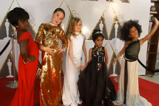 Children give Oscars fashion the pint-sized treatment