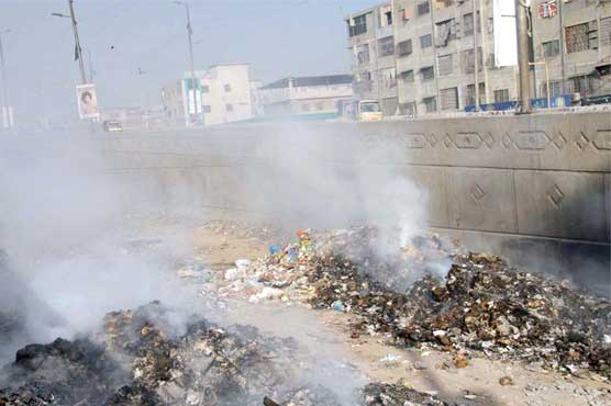 Pakistan's financial capital Karachi turned 'into rubbish