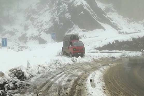 New spell of snowfall, rain continues in different parts of country