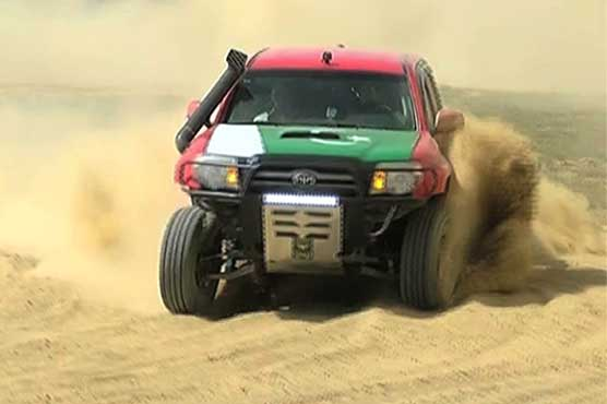 Asad Khoro secures controversial victory in Hub jeep rally