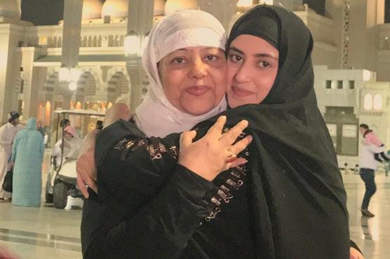 Sajal Ali mother name Rahat Ali