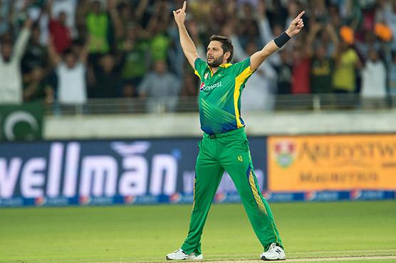 Afridi appointed Blind Cricket World Cup ambassador