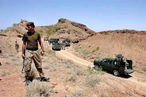 Five terrorists, two FC men killed in Orakzai raid