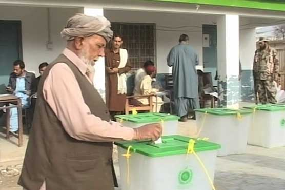 Polling for by-election in PB-7 Ziarat underway