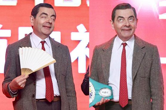 Rowan Atkinson is back as 'Mr Bean' in China