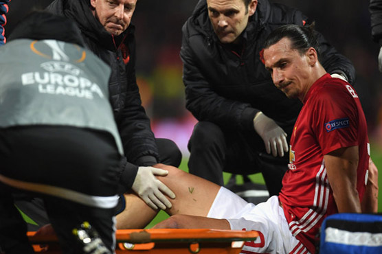 Ibrahimovic feels 'stronger' after knee surgery
