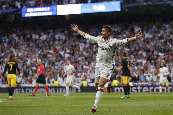 Football: Ronaldo hat-trick leaves Real on verge of final