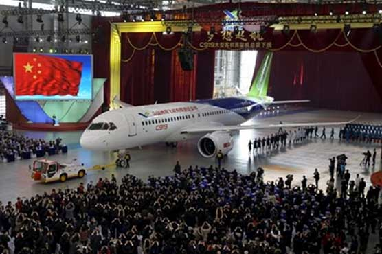 China's homegrown jumbo passenger jet takes to the sky