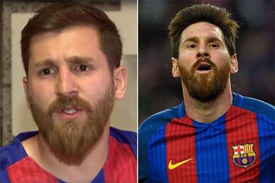 Fans going crazy for Lionel Messi's Iranian Doppelgänger