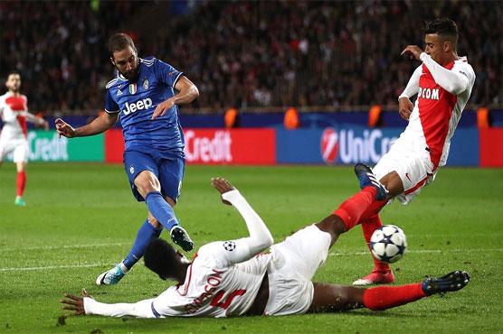 Football: Juventus close on final as Higuain hurts Monaco