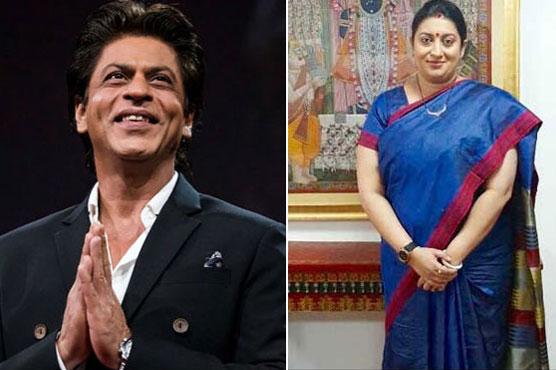 SRK makes a revelation about Smriti Irani's step-daughter
