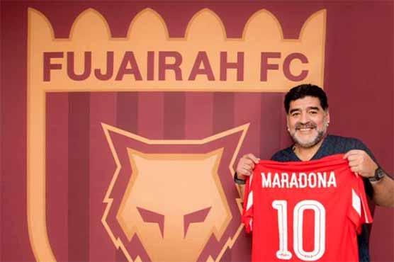 Maradona joins UAE football as manager of second-tier Fujairah