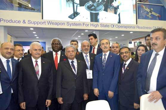 Rana Tanveer leads Pakistani delegation at Int'l Defence Industry