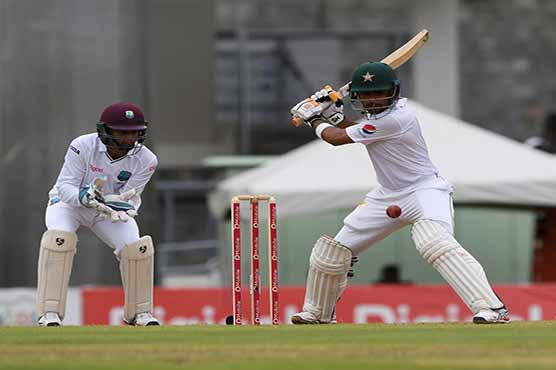 Pakistan frustrate West Indies in opening session