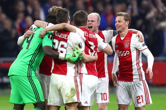 Football: Ajax into Europa League final