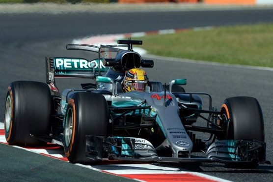 Spanish GP: Vettel 'surprised' by Hamilton race comeback