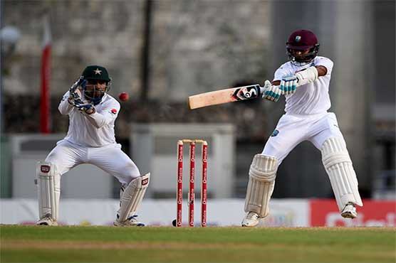 West Indies were all out for 247 as Abbas five-for helps Pakistan in taking 129 runs lead