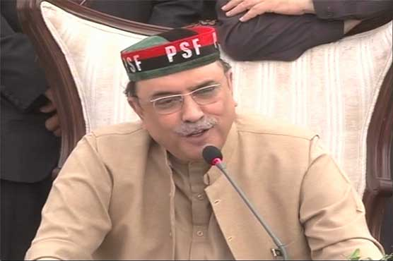 Will not let Pakistan war against neighbours: Asif Ali Zardari
