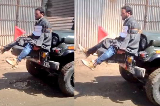 No action against Indian Army Major who tied man to Jeep