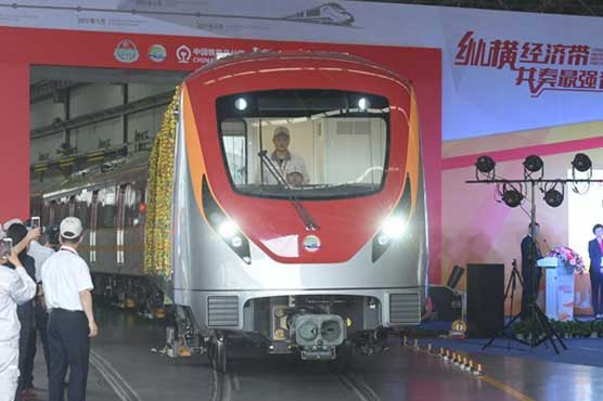 In Pictures: This is how Lahore Orange Line train looks like