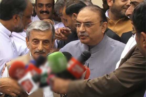 PPP has no 'match' to win against PTI: Zardari