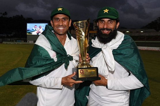 Misbah-ul-Haq gets hero's welcome on return to Pakistan