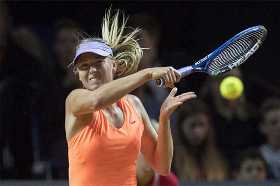 Maria Sharapova retires in Rome after French Open snub