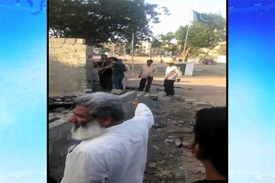Karachi: Office of political party demolished in Liaquatabad area