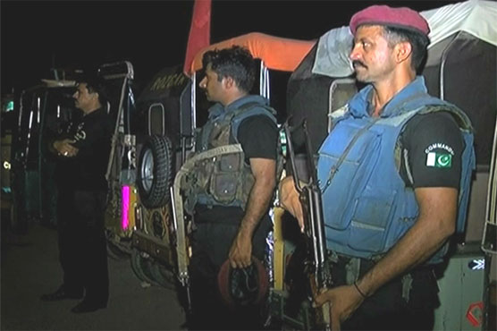 Karachi: 15 suspects nabbed in police, Rangers search operation