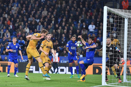 Football: Four-goal Kane eyes golden boot after crushing Leicester