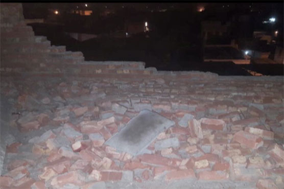 Lahore: Wall collapse claims three lives