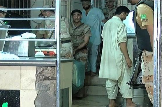 Karachi: Rangers nab two in operation against drug peddlers